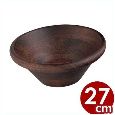 天然木サラダボール 27cm/木製 ボウル 器 ...の商品画像