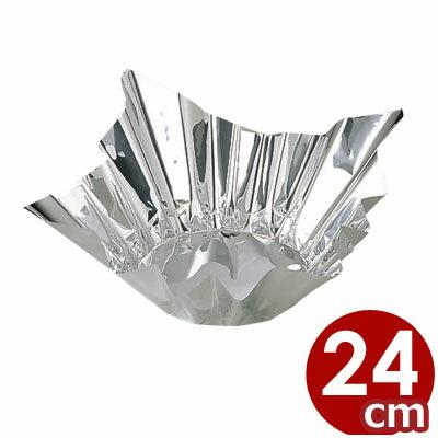 アルミ箔鍋 銀色 24cm角 1個入り/使い捨て...の商品画像
