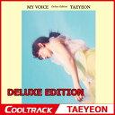 【初回ポスター】 少女時代のテヨン ソロアルバム(TAEYEON) - 正規1集 『MY VOICE