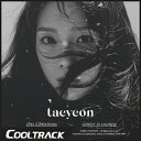 【初回ポスター】 少女時代のテヨン ソロアルバム(TAEYEON) - WINTER ALBUM『T