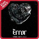 【ポスター終了】VIXX (ビックス) - 『ERROR エラー』 2nd Mini Album/ミニ2集/MINI2 【国内発送】