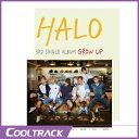 【送料無料・代引不可】 HALO - GROW UP [3RD SINGLE ALBUM] 【ヤマトメール便】