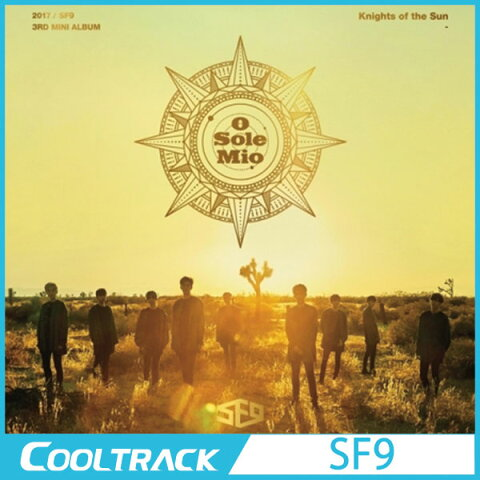 【ポスター終了】 SF9 - 『KNIGHTS OF THE SUN』[フォトカード2種]/3rd MINI【国内発送】【送料無料】