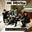 Artist Name: O - 【送料無料・代引不可】 ONE DIRECTION (ワン・ダイレクション) - NIGHT CHANGES (5 INCH MAXI SINGLE CD) 【ヤマトネコポス】【国内発送】
