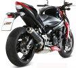 【MIVV】(ミヴ) GP スリップオン GSX-S1000 / F ブラックステンレス