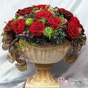 プリザーブドフラワー 新築祝い 還暦祝い 結婚祝 記念日 高級アレンジ 母の日 お祝い ギフト 退職祝い ワンランク上 赤 バラ アモローサ プリザ ◇