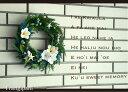 楽天Coppe Craft WorkshopFrangipani-L / プルメリアの誘惑-L  サマーリース/ハワイアンリース/西海岸/サーフ/フラ/夏リース/貝殻/ヒトデ/シェルリース/ハワイ/ウェディング/ブライダル/ウェルカムリース/玄関