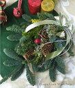【クリスマスリース】【リース】【玄関】ドライフラワーリース★ナチュラルクリスマス★スワッグ★Swag des sapins