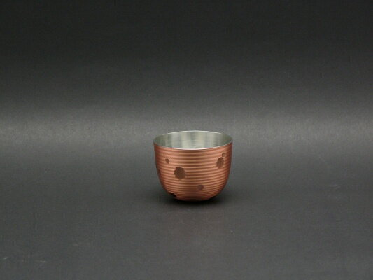 ぐい呑み 手打ち ぐい飲み (さくら) 銅 淡雪...の商品画像