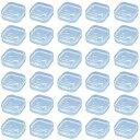 HAMILO 小物収納ケース プラスチックケース クリアケース 部品収納 パーツ整理 40点セット