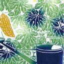 【メール便可】 気音間 手ぬぐい ゴーヤーカーテン 注染 特岡 綿100% 日本製 沖縄 緑のカーテン 菜園庭 夏 8月 7月 無蛍光晒し ギフト 贈り物 kenema てぬぐい 手拭い 野菜 ゴーヤ 母の日