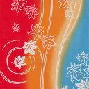 【神無月 下 10/3〜10/31までメール便送料無料】気音間 注染手ぬぐい 紅川【メール便可】/手ぬぐい/てぬぐい/手拭い/紅葉/もみじ/秋/和柄/紅葉狩り/...