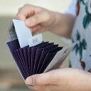 じゃばらカードケース 結城紬 カードケース/じゃばら/蛇腹/薄型/メンズ/男性用/扇子/和雑貨