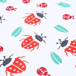 瓢蟲利源去汙 Tenugui (毛巾和手毛巾)
