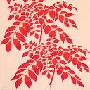 梨園染手ぬぐい 紅葉に七かまど【ネコポス可】手ぬぐい/てぬぐい/手拭い/和柄/注染/秋/紅葉/七かまど/もみじ/黄葉