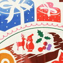 【霜月 下 11/1?12/1までレビューご協力でメール便送料無料】気音間 注ぎ染め手ぬぐい スイートクリスマス/手拭い/手ぬぐい/てぬぐい/和/和雑貨/季節手ぬぐい/インテリア/冬/クリスマス/xmas/【楽ギフ_包装】