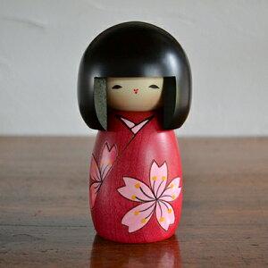 卯三郎こけし 花は桜(Cherry of flower) こけし/グ