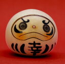 Usaburo kokeshi doll happiness Dharma doll white (Happiness Daruma doll White) [easy ギフ _ packing]