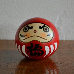 卯三郎こけし 幸福だるま 赤 こけし/達磨/グッズ/群馬