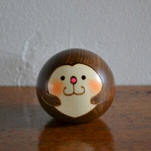 卯三郎こけし ゆらころ さる(干支)猿(Monkey)申こ