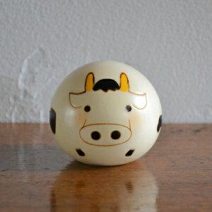 卯三郎こけし ゆらころ うし(干支)牛(Cow)丑こけ