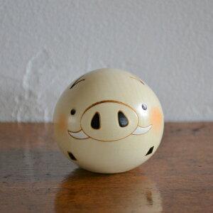 卯三郎こけし ゆらころ いのしし(干支)猪(Boar)亥