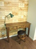 送料無料アジアン家具椅子チェアアンティークスツールチーク木製レザーアジアン家具椅子木製レザーいすカフェチーク・スツール【アンタレス】
