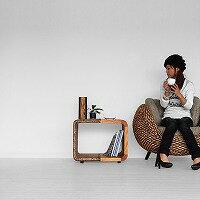 ラタン・サイドテーブル【モンド】アジアン家具