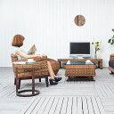 送料無料 【アロニア】オケージョナルテーブル アジアン家具
