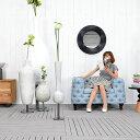 ★送料無料  HPフラワーベース(ホワイト)#GB14044 アジアン家具 雑貨 花瓶 壺 つぼ 木製 インテリア 花台