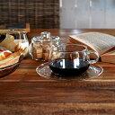 UNITEA カップ&ソーサー コーヒーカップ ティーカップ 食器 しょっき ブランド食器 ガラス ガラス製 おしゃれ デザイン シンプル かわいい ガラス食器...
