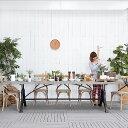 送料無料 ジェラニアム・ ダイニングテーブル(PJT421) アンティーク アジアン テーブル 木製 無垢 シンプル モダン ダイニング 食卓 カフェ 北欧 6人用 4人用 2人用 送料無料 フレンチ 白 シャビー