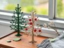◇ lovi クリスマスツリー 25cm 木製 2色...