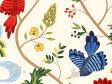 北欧 生地 ボラス 北欧 生地 boras cotton ボラス コットン 北欧 生地 はぎれ 北欧 生地 ファブリック BIRDLAND バードランド 北欧 生地 柄リピート単位 約62cmで切り売り 北欧 生地