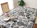 marimekko マリメッコ テーブルクロス 撥水加工 はっすい生地 PUUTARHURIN PARHAAT プータルフリン パルハート ホワイト 10cm単位で切り売り マリメッコ 生地 北欧 布 切り売り 北欧 生地 ビニールコーティング