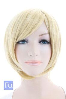 短鮑勃鮑勃假髮短假髮 cosplay 假髮耐高溫 240 ° C (030 博-t 1025)