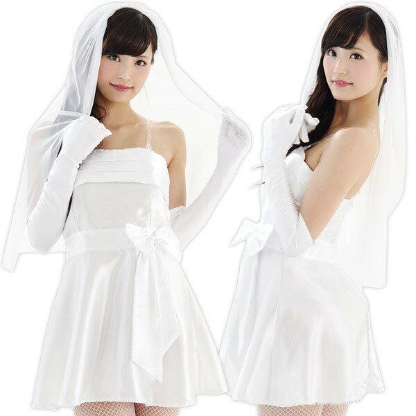 コスプレ ウエディング 花嫁 花嫁 ウェディングドレス メルヘン白 コスプレ衣装 ステージ…...:coscommu:10000871