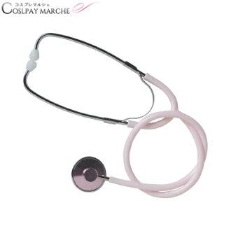 護士的顏色範圍粉紅色聽診器與顏色範圍 cosplay 護士裝護士聽診器醫生 cosplay 配件萬聖節護士服裝護士衣服聽診器與顏色範圍配件化裝玩具服裝 < > 丸-b04268