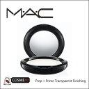 MAC /マック プレッププライム トランスペアレントフィニッシングパウダー/プレスト(MK3Y01)