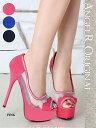 ショッピングSH- 【送料無料!!】 エンジェルアールキャバ ドレス サンダル パンプス ミュール【最新作パンプス】ヒール14.5cm、キラキラ、ラインストーン、デザイン、靴(SH012)【02P03Dec16】