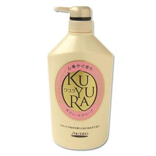 エフティ資生堂 クユラ ボディケアソープ 心華やぐ香り KUYURA SHISEIDO Body Care 550ml *