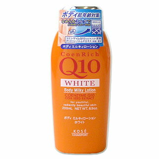 Coenrich Q10 white body Milky lotion 200 ml KOSECOSMEPORT *