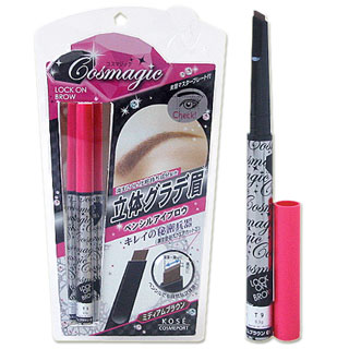 @ コスマジック rock on eyebrow BR01 ( eyebrow eyebrow ) medium brown Cosmagic KOSECOSMEPORT *