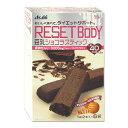おいしく食べて、ダイエットサポート。アサヒフードアンドヘルスケア リセットボディ 豆乳ショコラスティック 2本入×6袋 Asahi RESET BODY