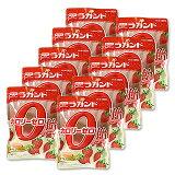 サラヤ ラカント カロリーゼロ飴 いちごミルク味 48g×10個セット(セット販売/1個あたり228) saraya lakanto *