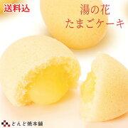 【送料無料】湯の花たまごケーキ 20個入 どんど焼本舗
