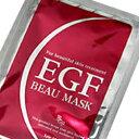 ポイント最大8倍生まれ変わるようなみずみずしい素肌に美肌水 EGF ビュー マスク 【EGF BEAU MASK】 1枚入 18ml
