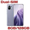 【取り寄せ】 Xiaomi Mi 11 8GB 128GB CN版 SIMフリー Dual-SIM