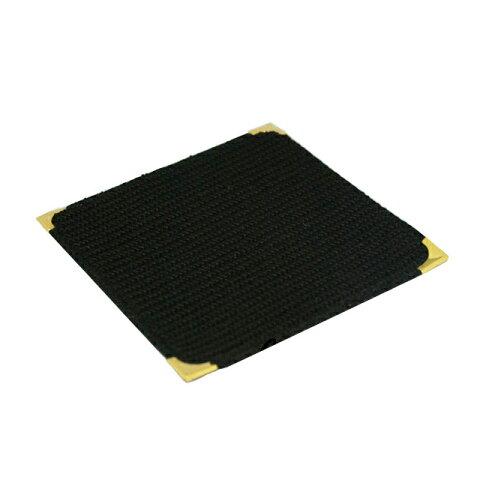 【ネコポス対応可】フォーユー スミ金コースター(黒) (10枚入) (C9626-BK) [コースターおしゃれ][業務用卓上備品]