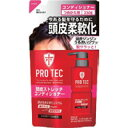 【LION】【ライオン】PRO TEC(プロテク) 頭皮ストレッチ コンディショナーつめかえ用 230g【プロテク】【スカルプ】